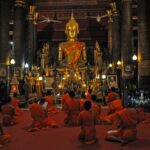 preghiera (luang prabang) - foto di andrea cassano