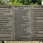 S-21 tuol sleng, le regole - foto di andrea cassano