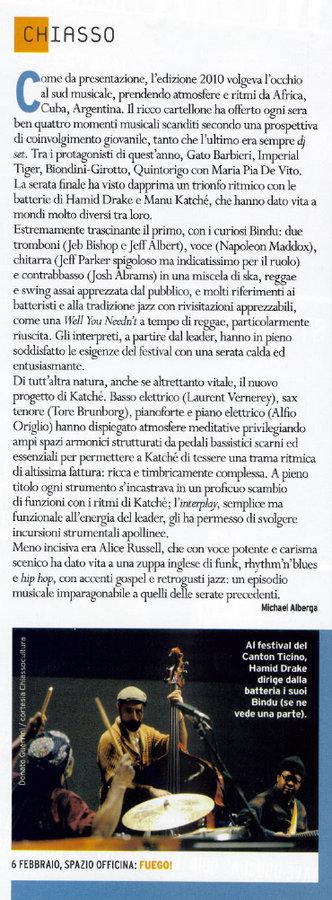 musica jazz aprile 2010 - by donato guerrini