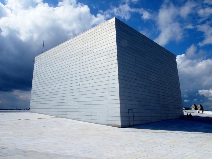 oslo opera house - by donato guerrini