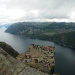 preikestolen, lysefjord - by donato guerrini