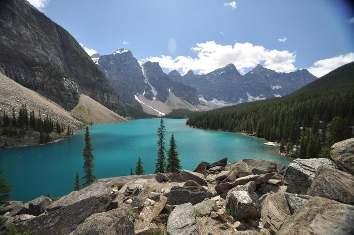 banff national park - by andrea cassano