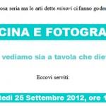 cucina e fotografia - milano 25 settembre 2012