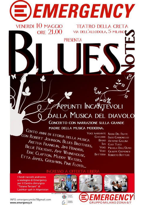 blues notes - roberto botturi - 10 maggio 2013