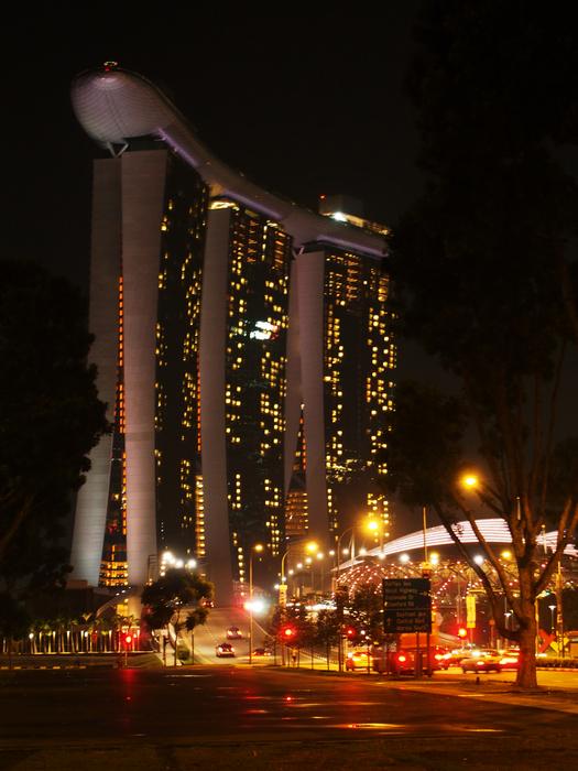 marina bay - singapore - by alessandro guerrini