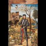morte di cavaliere - vittore carpaccio - tavola - foto di giovanni buscema & donato guerrini