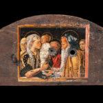 la presentazione di gesu' al tempio - mantegna - porzione di botte - foto di giovanni buscema & donato guerrini